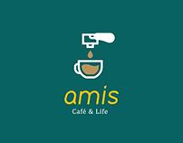 Amis Café品牌視覺調整 / CI