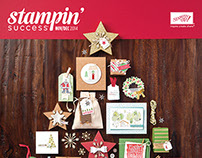 2014-2015 Stampin' Success Magazine Covers