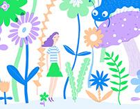"""Alice in Wonderland"" Illustrations"