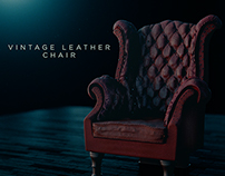 Vintage Leather Chair - Sales Stills