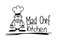 Mad Chef Kitchen - Animated Logo