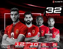 Al Ahly club scorers