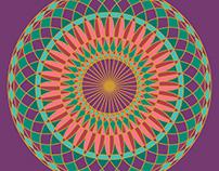 Festival Wheel Mandala
