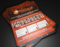 Arte Flyer | PRÉFACUL (Oportunidade Exclusiva)