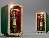 Product Design for Pernod Ricard's Jameson Brand