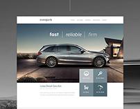 EuroPark Rent a Car Website Design / UI UX