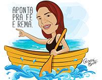 Caricatura Mariana