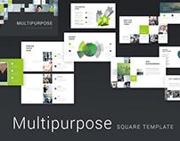 Multipurpose template presentation