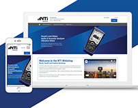 Ecommerce web revamp and redesign for NTI Audio