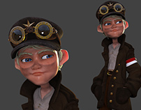 Following Character Tutorial step by step