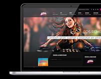 Radio DJ Remix |Diseño Web