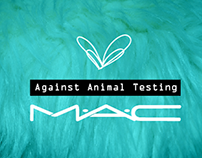 MAC rebrand inspired by the issue of animal testing