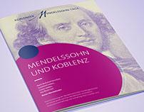 Brochure Koblenzer Mendelssohn-Tage