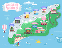 Angels world 2016(AOA concert) illustration