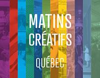 Livre anniversaire 1an – MatinsCréatifs de Québec