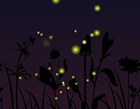 Fireflies animation