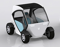 "Smart City Car ""Utopia"" (work in process)"