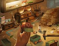 Ilustración, Raincup Games