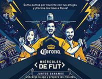 Corona - Miércoles de FUT App