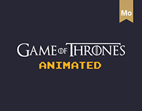 Animated characters.The Game of Thrones.