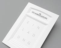 Les Ambassadeurs - Invitation