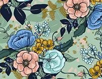 Florescence prints