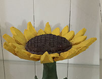 Sunflower Candy Dish