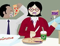 Animation: The Business Lunch
