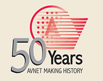 Avnet 50th Anniversary Campaign