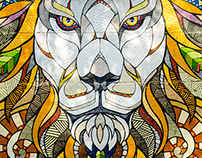 YAAM // Mural // Lion