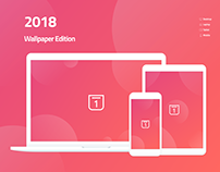 2018 Wallpaper Calendar - Free Downloads