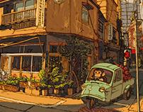 100 Views of Tokyo(81~85)
