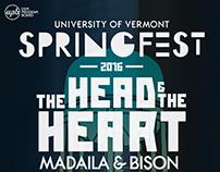 UVM Springfest 2016