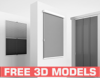 Free 3D Models: Akant blinds