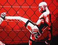 Anderson Silva's Front Kick.