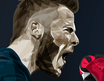David De Gea illustration