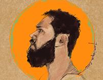 Quick portrait sketches