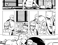 Commission: Steve Rogers and Felicity Smoak page