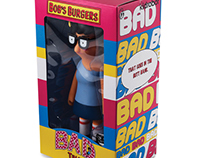 "Bob's Burger 7"" Medium Figure Packaging"