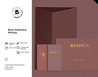 Free Basic Stationery Mockup