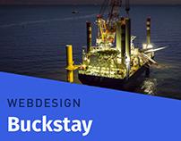 Buckstay ≠ Webdesign