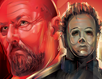 HALLOWEEN- JohnCarpenter/RobZombie Vector