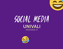 Social Media - UNIVALI