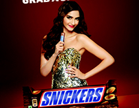 Snickers TVC and Print