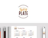 Restaurant menu identity design