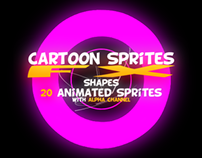 Cartoon Sprites FX (Shapes)