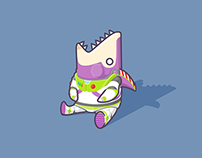 shark's fin project - 8. Buzz Lightyear