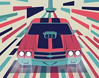 corporate identity for tehran auto show