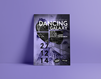 Dancing galaxy/Poster design
