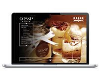 Gossip Desserts Website Design